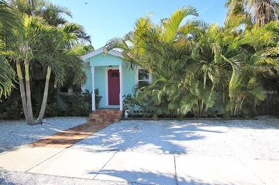 Saint Pete Beach, St Pete Beach Single Family Home For Sale: 7220 Coquina Way