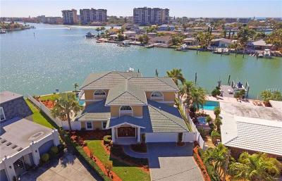 Treasure Island FL Single Family Home For Sale: $2,000,000