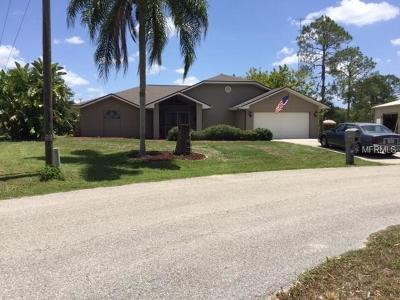 Port Charlotte Single Family Home For Sale: 1277 Underhill Circle