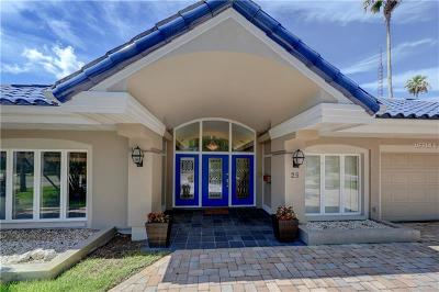 Belleair, Belleair Bluffs Single Family Home For Sale: 25 Winston Drive