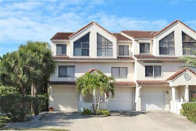 Indian Rocks Beach Townhouse For Sale: 1206 Gulf Boulevard #A1
