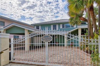 Indian Rocks Beach Single Family Home For Sale: 72 Gulf Boulevard