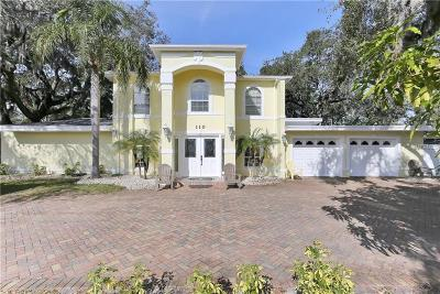 Belleair, Belleair Bluffs Single Family Home For Sale: 110 Indian Rocks Road S