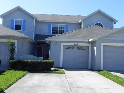 Oldsmar Townhouse For Sale: 203 Hemingway Drive