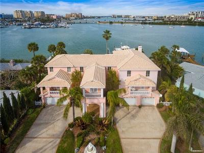 Clearwater Beach FL Single Family Home For Sale: $2,889,000