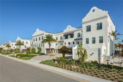 Clearwater Beach Townhouse For Sale: 182 Brightwater Drive #1