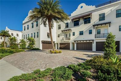 Clearwater Beach Townhouse For Sale: 182 Brightwater Drive #3