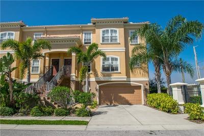 New Port Richey Townhouse For Sale: 6537 Channelside Drive