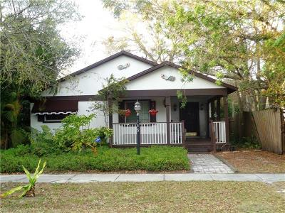 St Petersburg Single Family Home For Sale: 445 33rd Avenue N