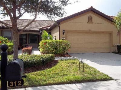 Apollo Beach Villa For Sale: 312 Bluewater Falls Court