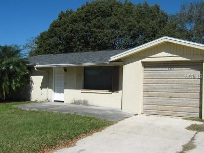 Holiday Single Family Home For Sale: 3351 Garfield Drive