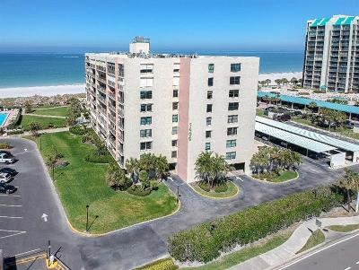 Clearwater Condo For Sale: 1400 Gulf Boulevard #207