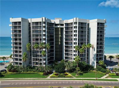 Clearwater Condo For Sale: 1660 Gulf Boulevard #405