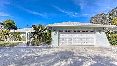 Belleair, Belleair Bluffs Single Family Home For Sale: 662 Mehlenbacher Road