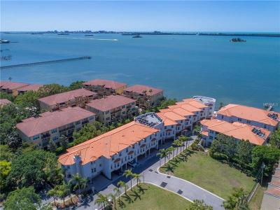 Dunedin Townhouse For Sale: 1340 Bayshore Boulevard #409
