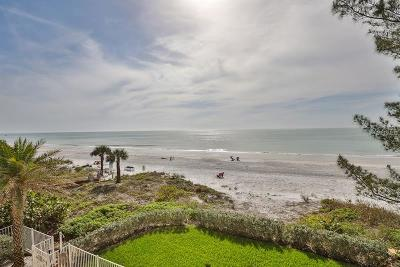 Indian Rocks Beach, Indian Shores, Largo, Madeira Beach, N. Redington, North Redington Beach, Redington Beach, Redington Shores, Saint Pete Beach, Seminole, St Pete Beach, St. Pete Beach, Treasure Island Condo For Sale: 19000 Gulf Boulevard #1