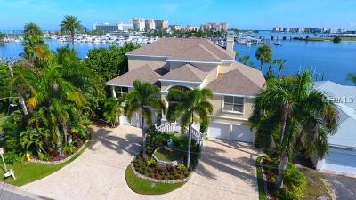 Clearwater Beach FL Single Family Home For Sale: $1,995,000