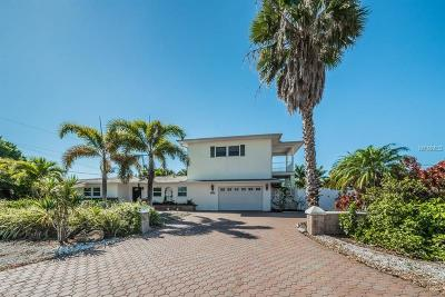 Treasure Island Single Family Home For Sale: 10231 Tarpon Drive