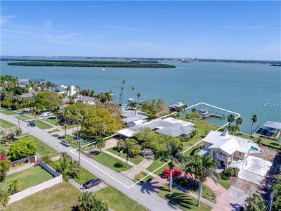 Clearwater Beach Single Family Home For Sale: 909 Bay Esplanade