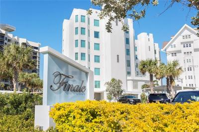 Clearwater Beach Condo For Sale: 1590 Gulf Boulevard #401