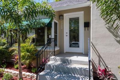 St Petersburg Single Family Home For Sale: 1300 15th Street N