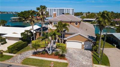 Clearwater Beach Single Family Home For Sale: 222 Palm Island SW