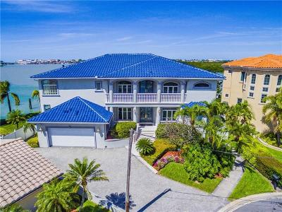 Treasure Island FL Single Family Home For Sale: $3,200,000