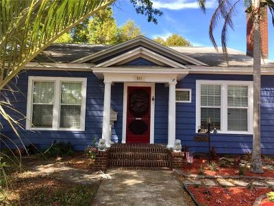 St Petersburg Single Family Home For Sale: 851 34th Avenue N