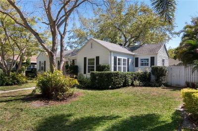 St Petersburg, Clearwater Single Family Home For Sale: 150 15th Avenue NE