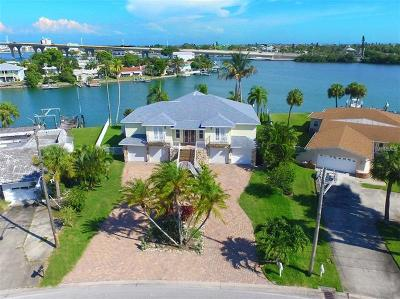 St Pete Beach Single Family Home For Sale: 3876 Belle Vista Drive E