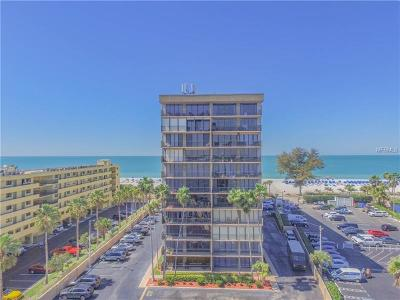 St Pete Beach Condo For Sale: 5396 Gulf Boulevard #209