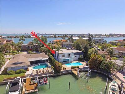 Saint Pete Beach, St Pete Beach, St Petersburg Beach, St. Pete Beach Single Family Home For Sale: 829 59th Avenue