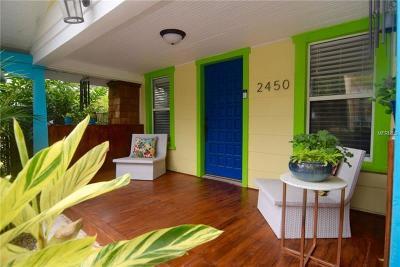 St Petersburg Multi Family Home For Sale: 2450 Burlington Avenue N
