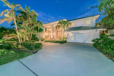 Clearwater Beach Single Family Home For Sale: 67 Windward Island