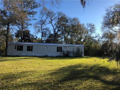 Levy County Mobile/Manufactured For Sale: 13190 28th Street