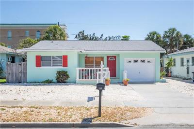 Saint Pete Beach, St Pete Beach Single Family Home For Sale: 3607 Casablanca Avenue