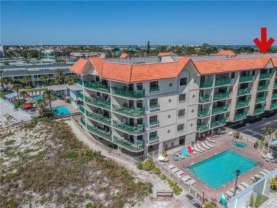 St Pete Beach Condo For Sale: 4000 Gulf Boulevard #506
