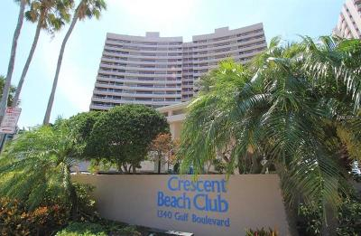 Crescent Beach Club, Crescent Beach Club Condo, Crescent Beach Club One Condo, Crescent Beach Club Two Condo Condo For Sale: 1340 Gulf Boulevard #4D