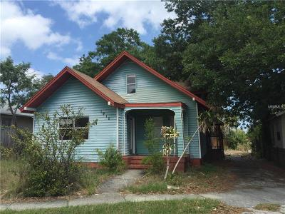 St Petersburg Single Family Home For Sale: 1910 Seminole Boulevard S
