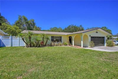 Cleasrwater, Clearwater, Clearwater` Single Family Home For Sale: 3142 San Mateo Street