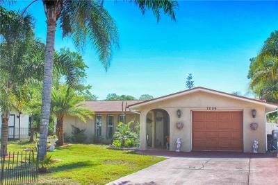 New Port Richey, New Port Richie Single Family Home For Sale: 7206 Cedar Point Drive