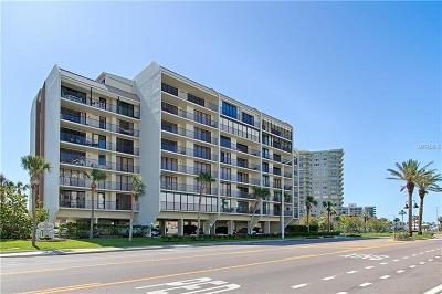 Clearwater Beach Condo For Sale: 1591 Gulf Boulevard #502S