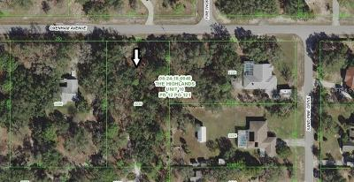 Hernando County, Hillsborough County, Pasco County, Pinellas County Residential Lots & Land For Sale: Oxenham Avenue