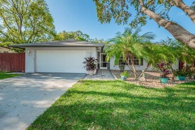 Tarpon Spring, Tarpon Springs Single Family Home For Sale: 1417 Red Oak Drive