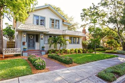 St Petersburg Single Family Home For Sale: 825 18th Avenue N