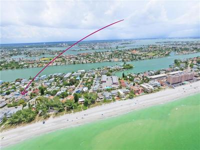 Treasure Island Single Family Home For Sale: 8675 W Gulf Boulevard
