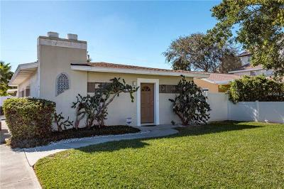 St Pete Beach Single Family Home For Sale: 210 46th Avenue