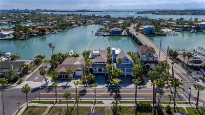 St Pete Beach Single Family Home For Sale: 2105 Pass A Grille Way