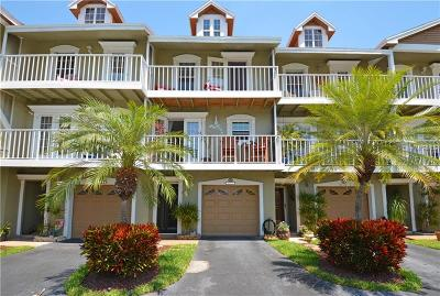 St Pete Beach Townhouse For Sale: 9174 Blind Pass Road