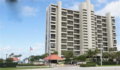Pinellas County Rental For Rent: 1290 Gulf Boulevard #1808